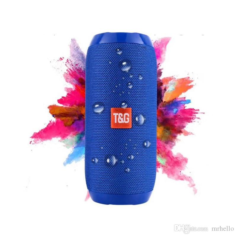 TG117 wireless bluetooth speaker subwoofer outdoor portable mini bluetooth speaker bass stereo speaker built-in TF card travel Riding audio