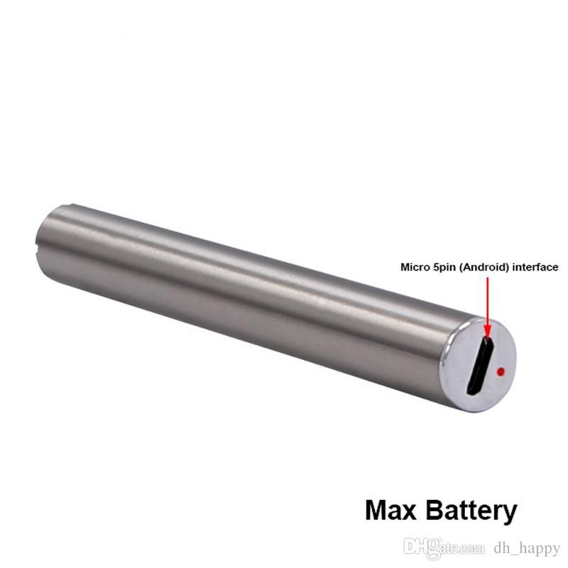 Nova Itsuwa Amigo Max Preaquecimento Da Bateria Variável de Tensão Inferior 510 Bateria de Rosca para Liberty Vaporizador Cartuchos V1 V5 V9