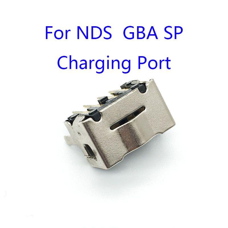 Conector de puerto del cargador Power Jack Conector de carga para NDS GBA SP Alta calidad ENVÍO RÁPIDO