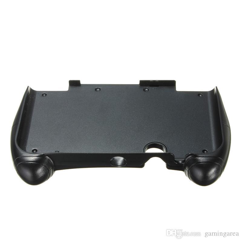 Ręcznie Grip Controller Gaming Gamepad Uchwyt Uchwyt Uchwyt Stojak na nowe 3DS XL LL Black DHL Fedex EMS Darmowa wysyłka