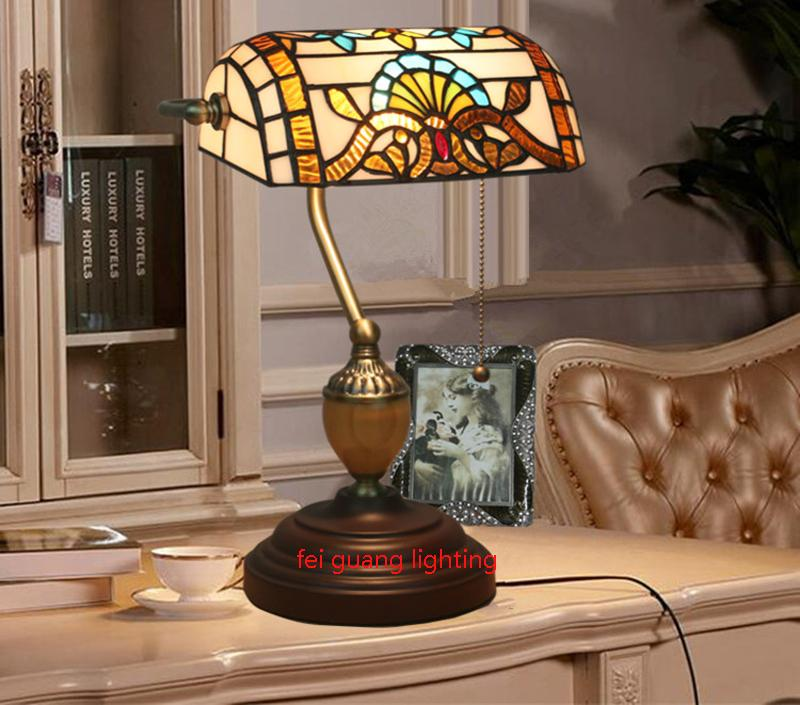 Retro Design Bank.2020 Bedside Table Lamp European Style Retro Old Shanghai Republic