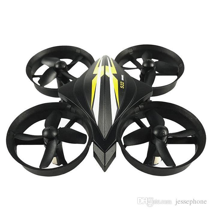 S22 Mini RC Toy 4CH 2.4GHz 6 Axis Gyro Mini Nano RC Quadcopter Drone with One Key Return 3D Flips LED Light MOQ 10pcs