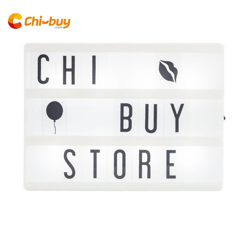 Chibuy A5 Cinema Light box LED A5 Light Box Cinematic USB Cinema lightbox DIY Home Decor