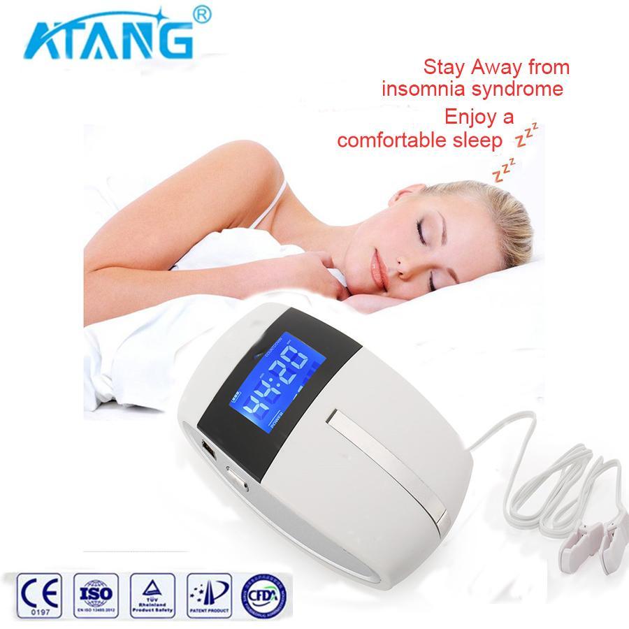 인간 건강 관리 좋은 효과와 불면증 안티 코 고는 장치에 대한 치료 CES 뇌 자극 수면 기계