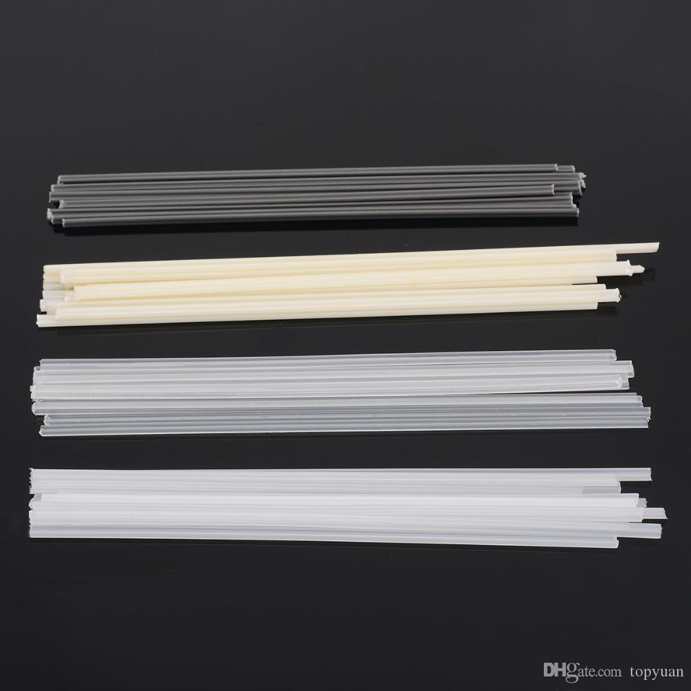 50PCS Plastic Welding Rods ABS//PP//PVC//PE Welding Sticks 200mm for Plastic