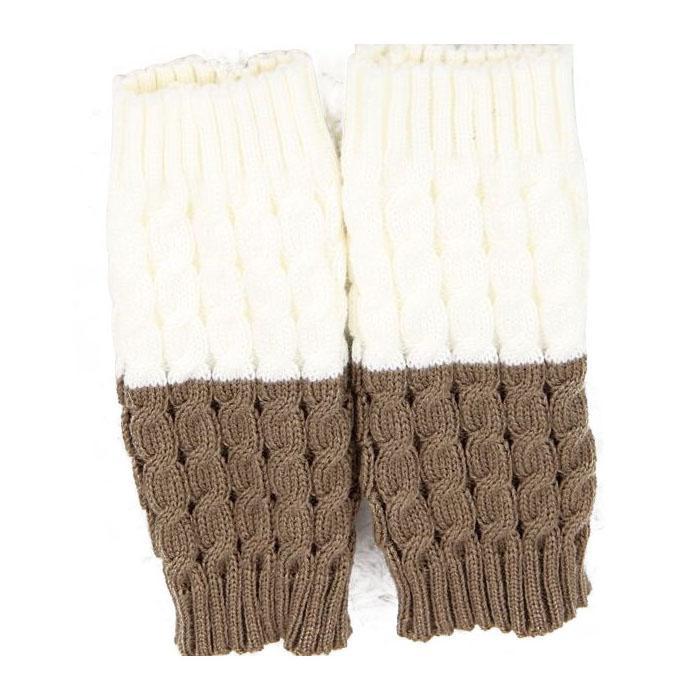 Compre BFYL Mujeres Crochet Medias Calcetines Calentadores De La ...