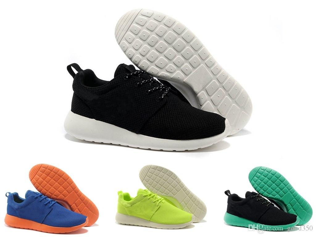 13 colores New roshe run rosherun rosherun London Olympic Running zapatos para hombres mujeres deporte London Olympic Shoes mujeres MenTrainers Sneakers zapatos tamaño 36-45