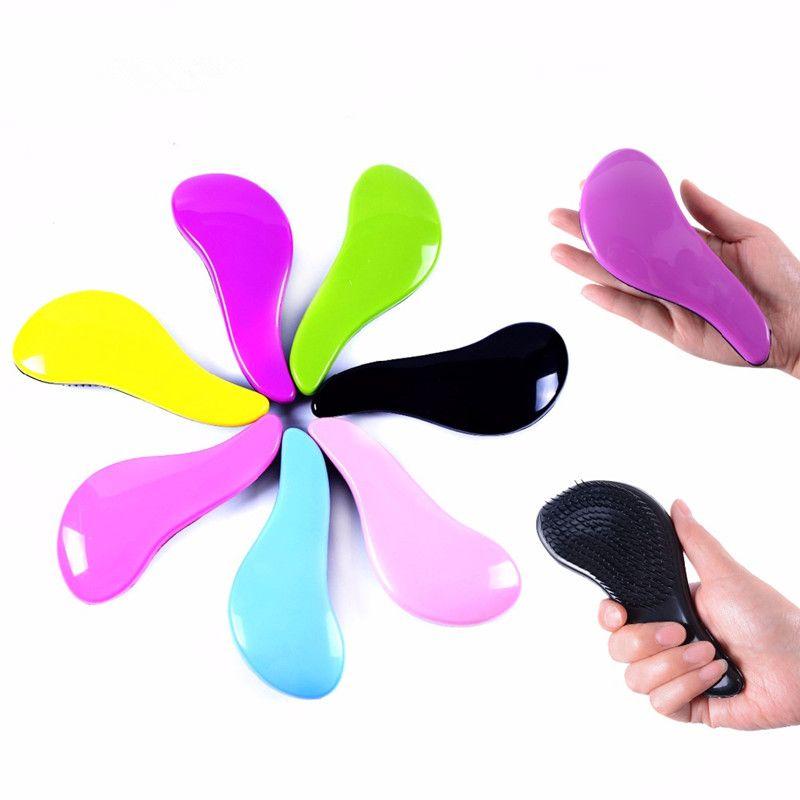 Poignée magique Tangle démêlant peigne douche brosse à cheveux démêlant Salon Styling Tamer exquite mignon utile outil brosse à cheveux chaud