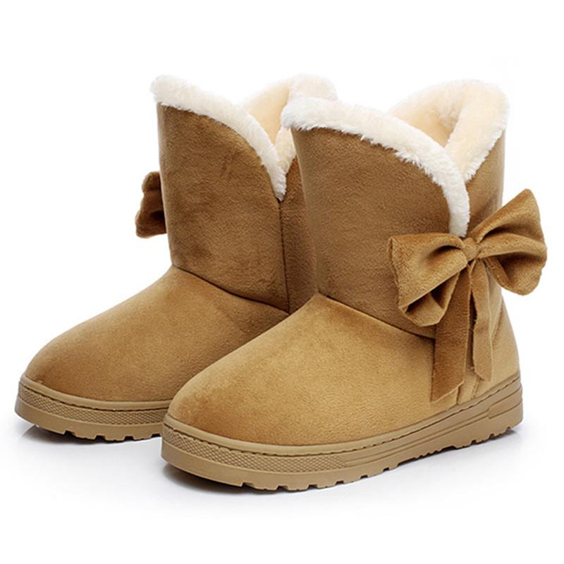 online store 893d1 64d58 New Arrival Women Winter Shoes Women Shoes Snow Boots Female Footwear Ankle  Boots Ladies Brown Cheap Football Boots Army Boots From Feetlove, $37.09|  ...