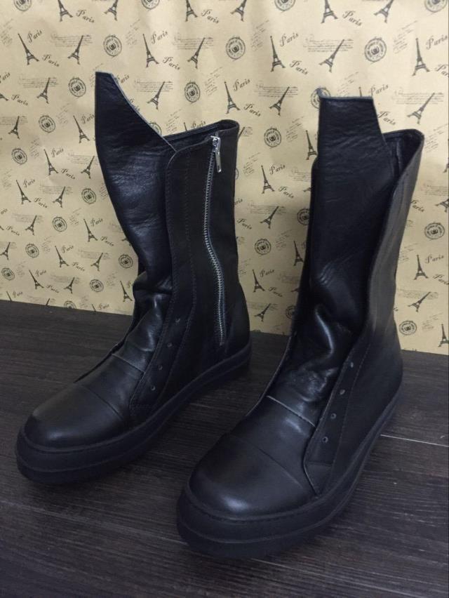 Top Designer Autunno e inverno alta moda alta stivali da passerella moda uomo scarpe da uomo scarpe alte da uomo e da donna 35-47