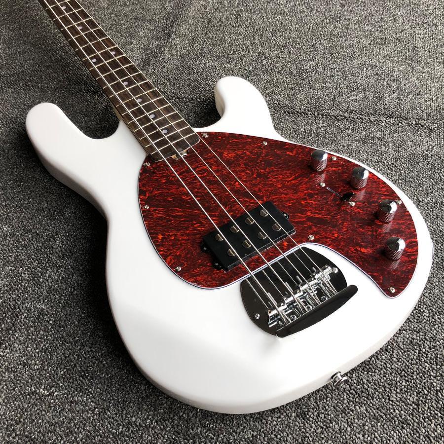 Sterlini Ray Beyaz 4 Dize Masif Ahşap Vücut Aktif Manyetikler Musicman Elektrik Bas Guitarras Ücretsiz Kargo Guitare