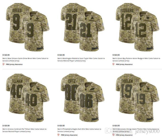 cfcfbc24 2019 Personalized Camo Salute To Service Limited Jersey Los Angeles  Chargers Joey Bosa American Football Jerseys Men Women Youth Kids AFC Olive  From ...