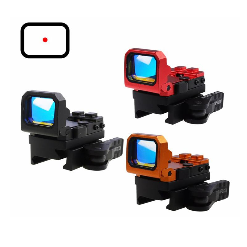 Tactical Vism Red Dot Pistole Anblick Holographic Reflex Docter Anblick mit 20mm Picatinny Mount oder G Mount