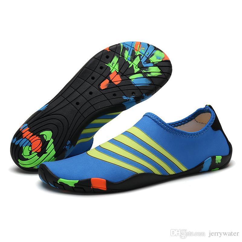 WateLves Zapatos de Surf para Hombres y Mujeres Senderismo jard/ín Zapatos para el Agua Piscina Antideslizante de Secado r/ápido Escalada Ligera al Aire Libre