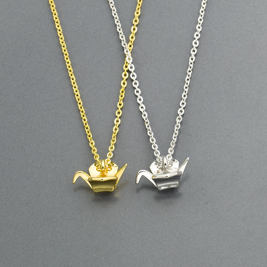 Wholesale 10 pcs 3 Colors Cute Small Crystal Cat Necklace Animal Fashion Jewelry