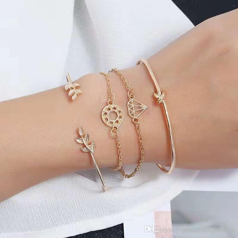 bracelet bague en or