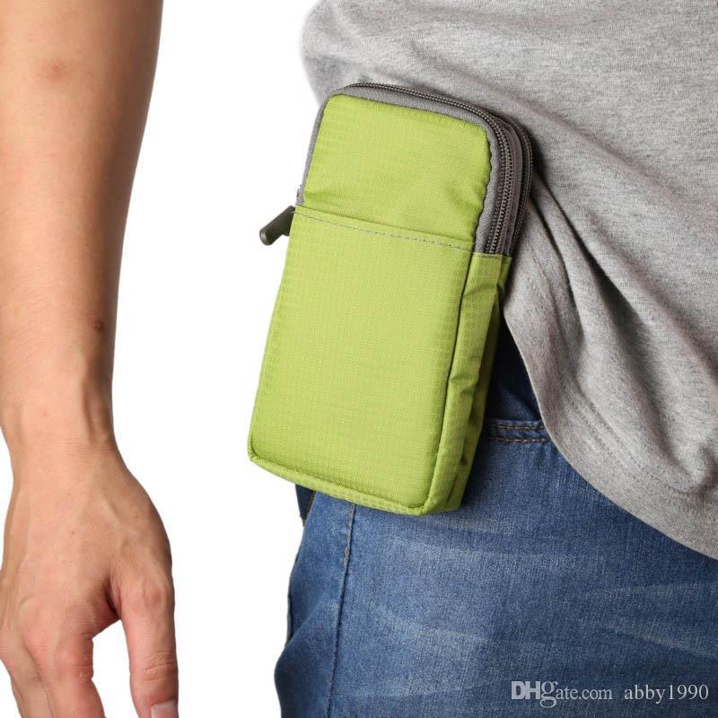 Custodia universale per borsa sportiva con clip da cintura per Lenovo A Plus / S720 / A820 / A798t / A516 / A820t / S750 / S820 / S650 / S660 / Angus2 A2010 / A5 / K6