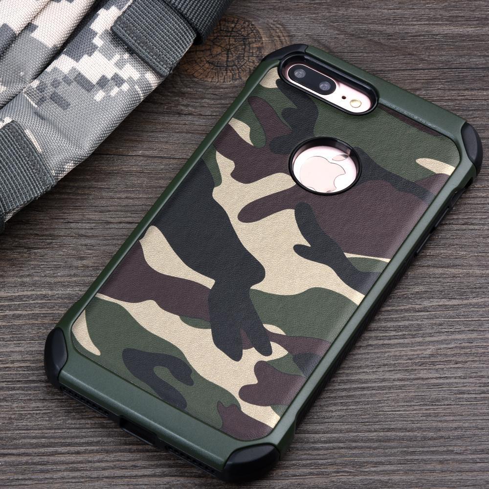 Coque IPhone 5 6 7 8 X Armure Hybride Plastique TPU Armée Camouflage Camouflage Couverture Pour Iphone7 7 Plus Proposé Par Yizhenzhong168, 2,89 € | ...