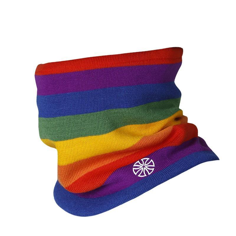 Outdoor Sport Hiking Warmer Scarf Unisex Outdoor Winter Autumn Warm Wool Ring Scarf Cycling Ski Head Neck Warmer Hat