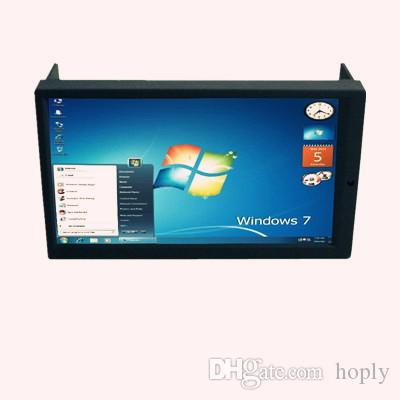 """Ücretsiz kargo EMS DHL 6.95 """"Dokunmatik Ekran Çift DIN Araba PC için Monitör, 2 DIN Dokunmatik Panel Carputer Ekran, 2DIN Araba Monitör"""