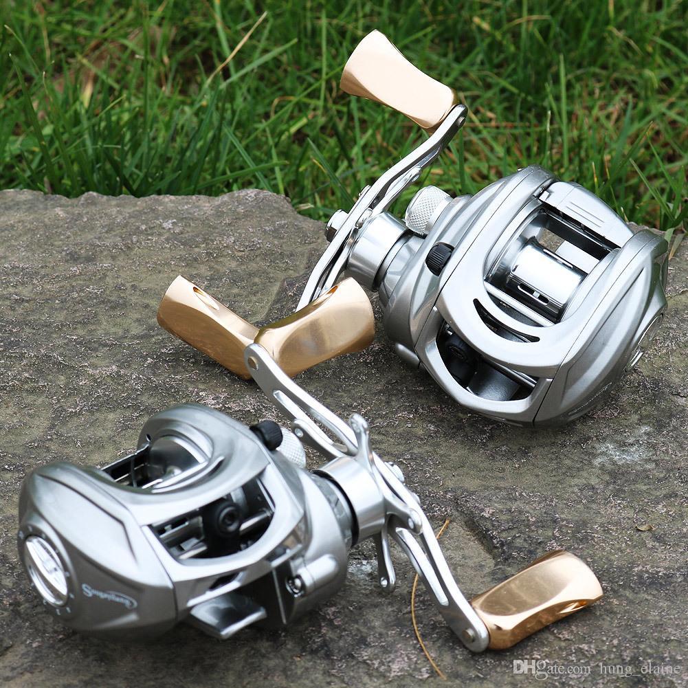 9+1 BBs Fishing Reels 7:1 Bait Casting Fishing Reel Left/Right Hand Baitcasting Reel Magnetic Brake Lure Fishing Coils