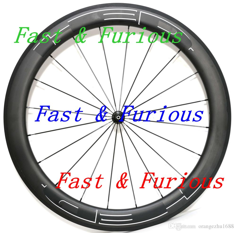 Free Shipping!!HED Carbon Wheels 50mm Clincher Road Bike Carbon Wheel 700C 23mm width Road Bike