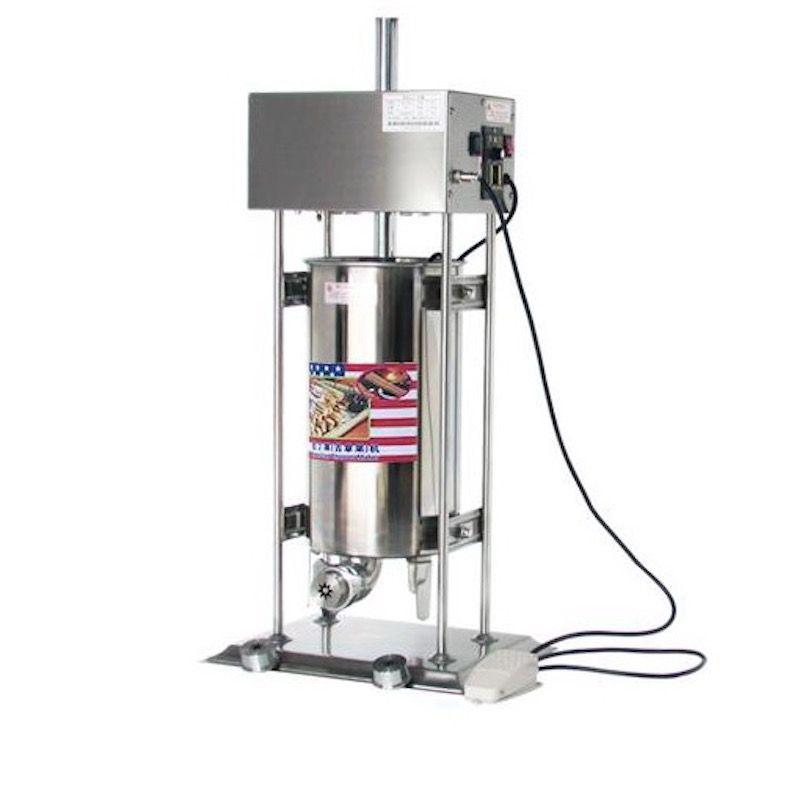 Otomatik Elektrikli Churros Makinesi Ticari İspanyol Fritterler Makinesi Popüler Snack Ekipmanları Büyük Kapasiteli 15L Churros Maker
