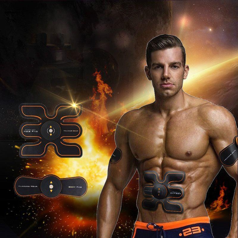 충전식 배터리 체육관 전자 바디 근육 팔 허리 복부 연습기 근육 마사지 기계 Viberating 슬림 벨트