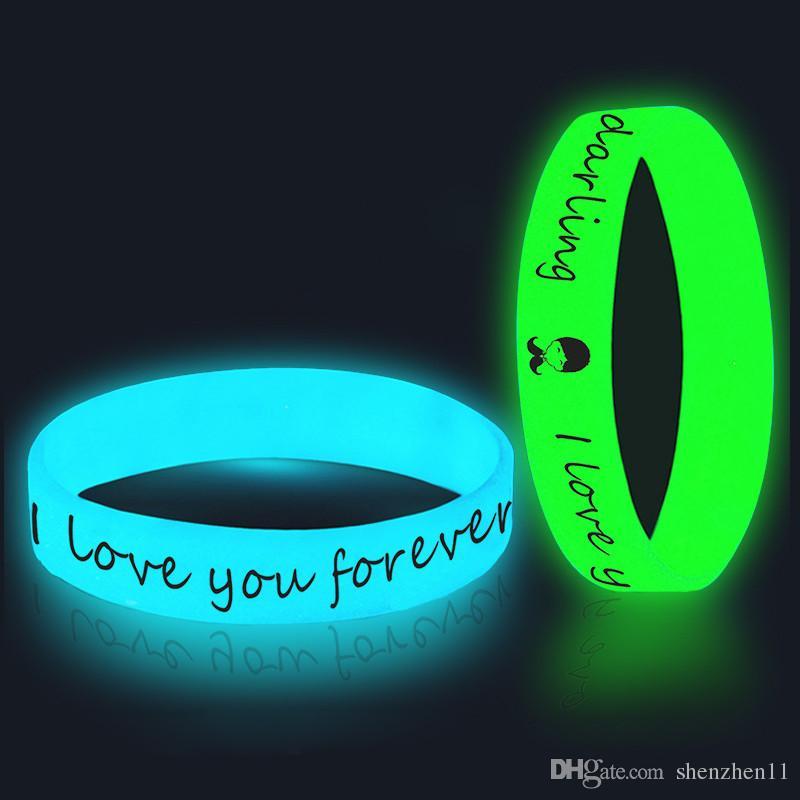 2018 Bracelets / bracelets en silicone brillants sur mesure pour les enfants. cadeau promotionnel adulte, groupe sportif OTH648