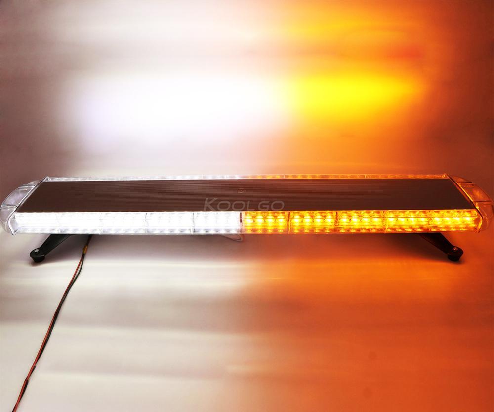 47 pouces 1.2M 88 LED camion pompiers pompiers d'urgence flash stroboscope balisage avertisseur lampe de signalisation 12V / 24V Lightbar