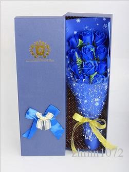 Sabun çiçek hediye kutusu yapay çiçek 11 çiçekler Yaratıcı Doğum Günü hediyesi Kız Arkadaşı için banyo konfeti mevcut