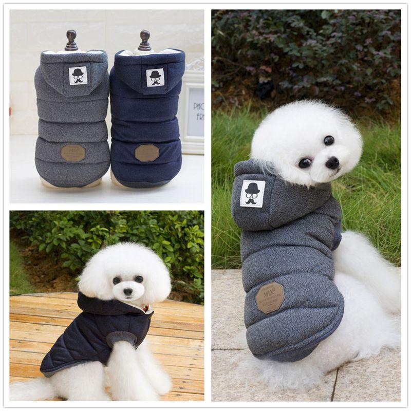Großhandel Neuester Schnurrbart Mit Kapuze Art Haustier Hunde Starke Winter Mantel Kleidung Von S Bis XXL Geben Verschiffen Durch China Pfosten