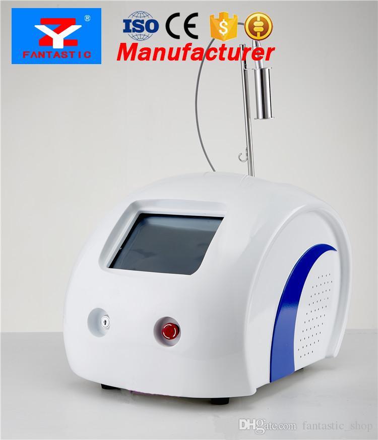 Novo Produto Vascular Terapia Red Remoção de Sangue Aranha Veias Remoção 980nm Diodo Laser Máquina De Beleza Com CE DHL Frete Grátis