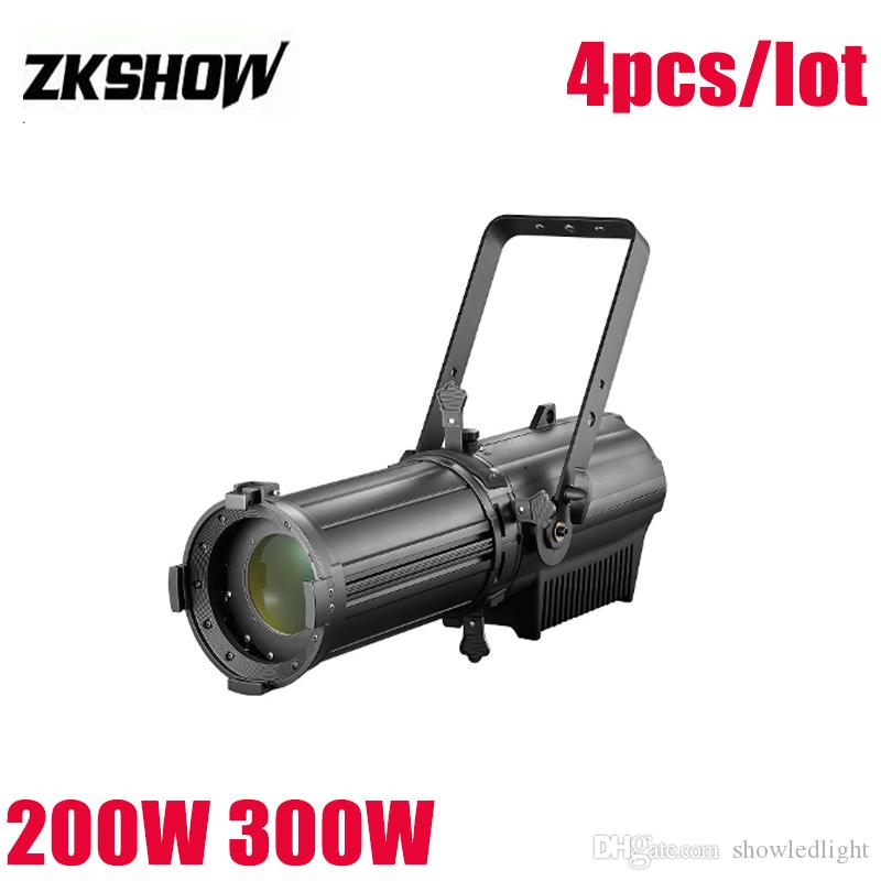 80% de desconto 200 W / 300 W Alumínio Fundido LED Perfil Spot Light Com Zoo Studio TV Profissional Iluminação de Palco 230 V Efeito Frete Grátis