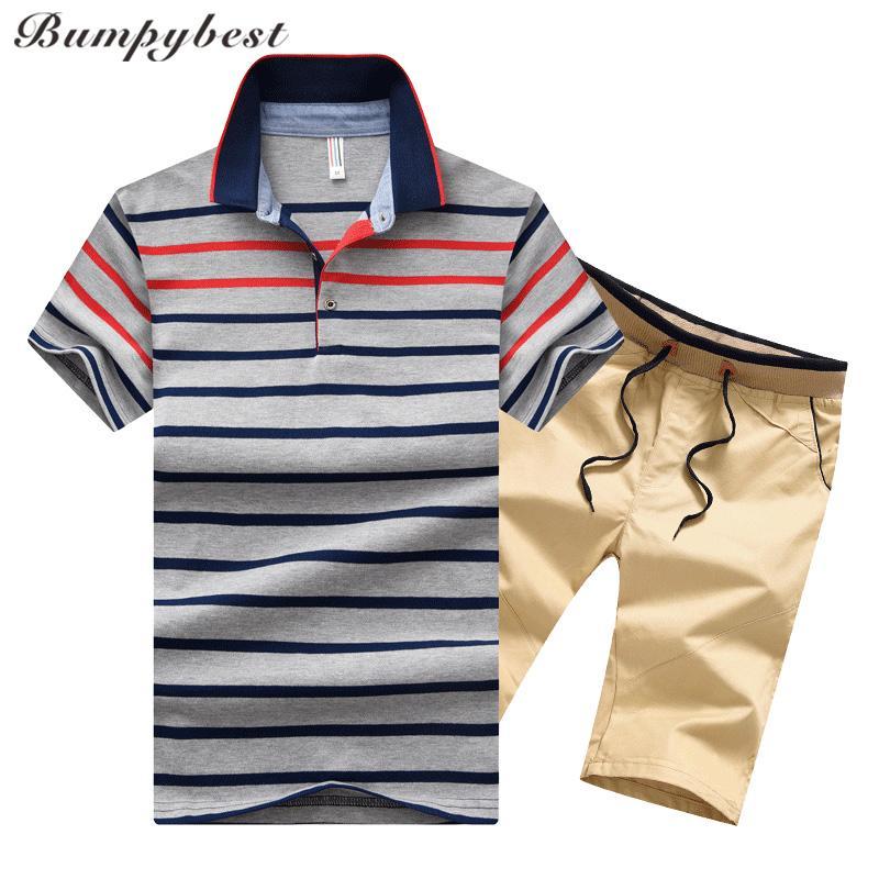 BumpyBeast Two Piece Set Sportswear Sportswear Hommes Tracksuit Hommes Converses Séance Summer SweatSuit Mens T-shirt T-shirt M-4XL