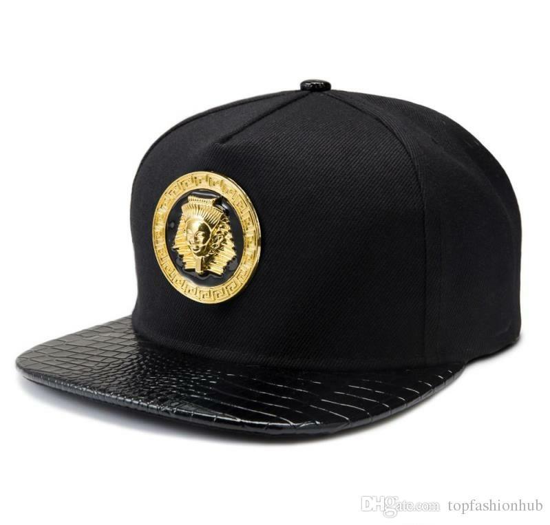 2018 Marka Moda Snapback Kırmızı Beyzbol Medusa Caps Marka Şapka Logosu Spor Hip Hop Rap DJ Erkekler Kadınlar Hediye Hızlı Kargo