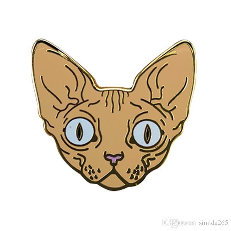 Distintivo Sphynx Cat Pin