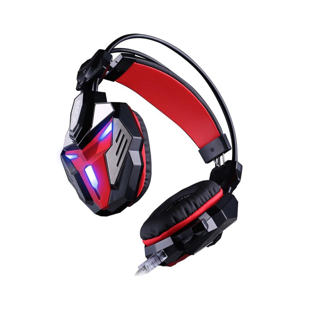 Wired Gaming Headphone para PS4 Xbox One PC Surround Sound Noise Cancelando Mic Stereo Earphone Earmuffs Macio Controle de Volume para PC Portátil