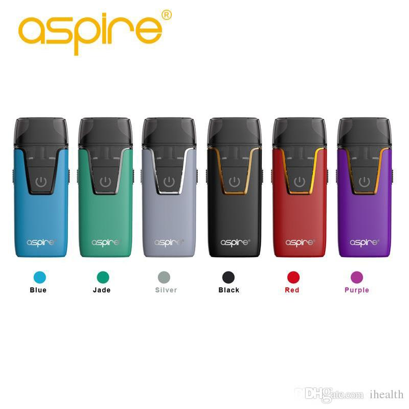 100% Authentic Original Aspire Nautilus Aio Kit 4.5ML Built-in battery 1000mAh Battery 1.8ohm BVC Coil