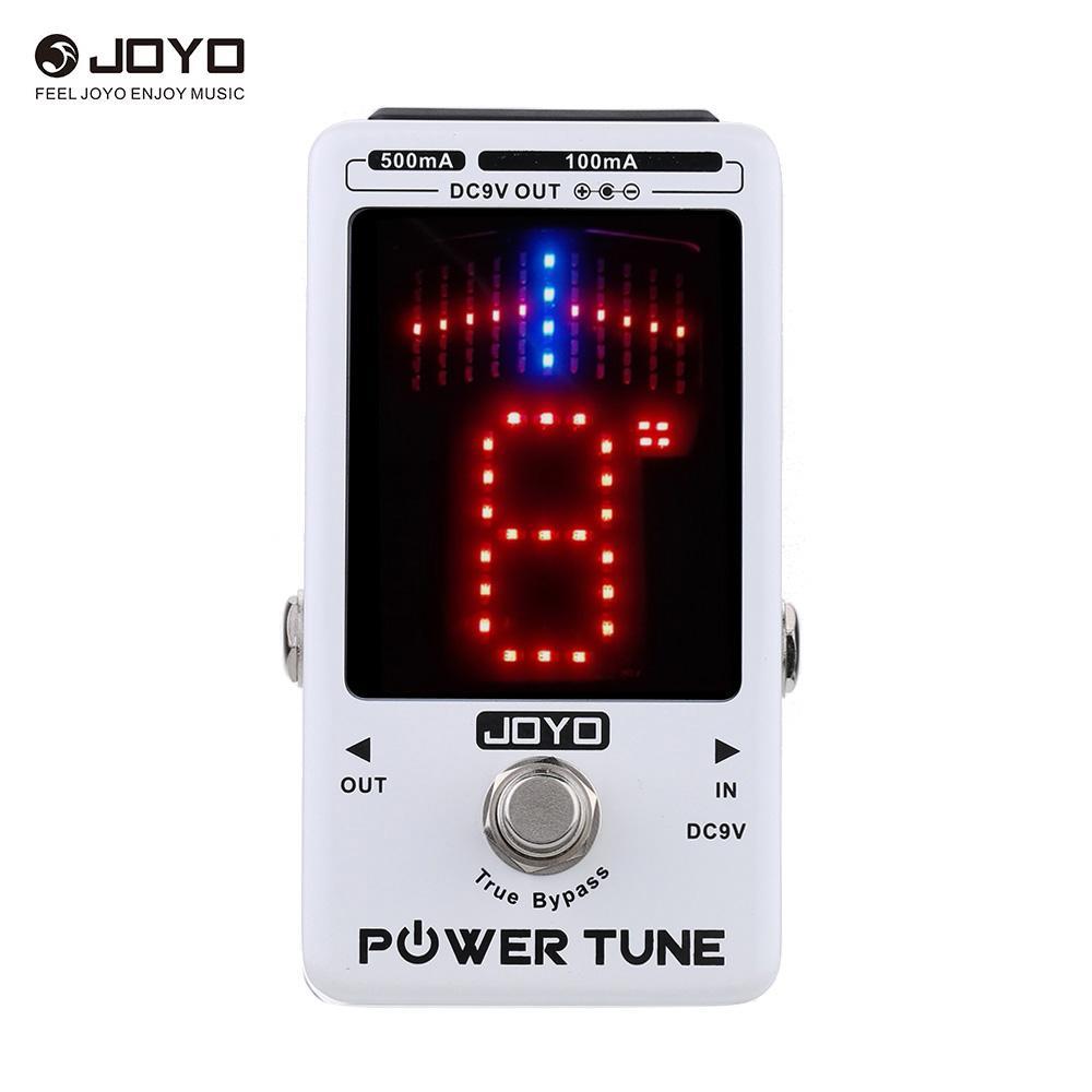 JOYO Güç Ayar Gerçek Bypass Elektro Gitar Bas Tuner 8 Port Çoklu güç Güç Kaynağı Tedarikçi Etkisi