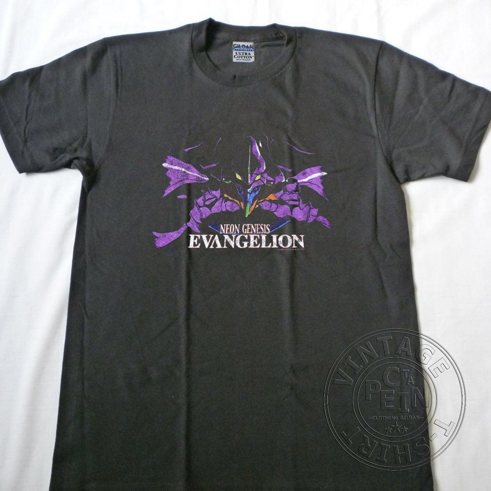 Vintage 1997 Neon Genesis Evangelion 90s Anime Akira Ghost In The Shell Reprintfunny Unisex Tee As Tee Shirts Awesome T Shirts For Men From Topclassaa 12 96 Dhgate Com