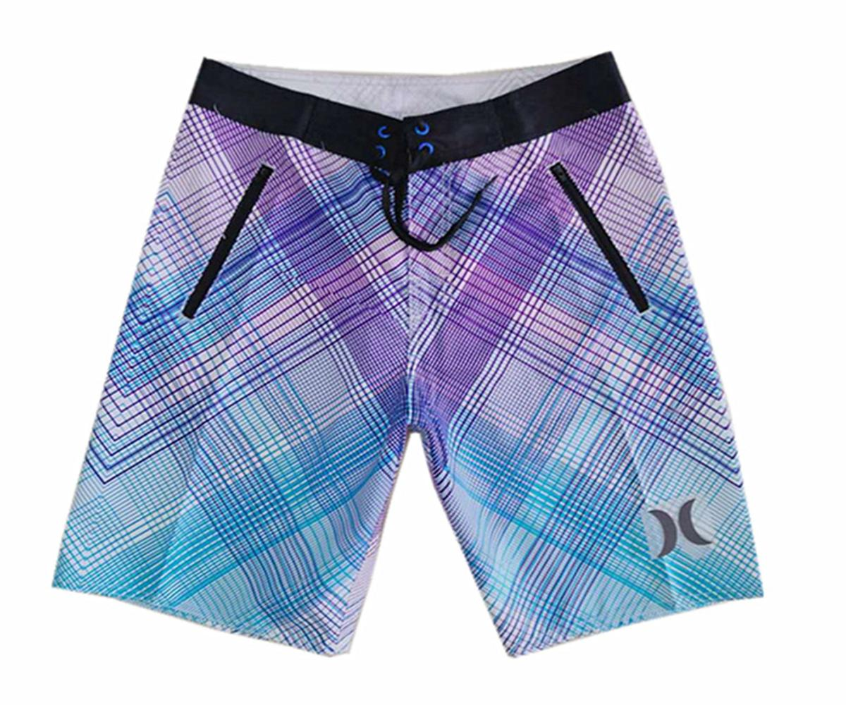 Awesome Polyester Fabric Loose Casual Shorts Mens Quick Dry Surf Pants Relaxed Board Shorts Beachshorts Bermudas Shorts Swim Trunks Swimwear