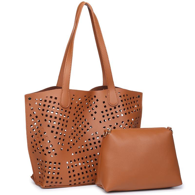 2018 패션 비치 가방 여성 가방 숙녀 빈티지 중공업 핸드백 봄 캐주얼 토트 여자에 대한 큰 어깨 가방