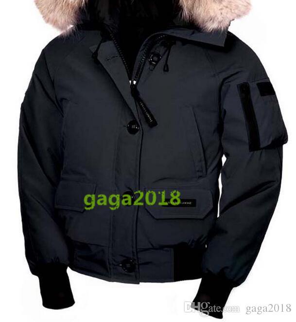 099c704d2 Niñas Chaqueta De Bomber Parkas Compre Mujeres Ganso FwHv5qW7x ...