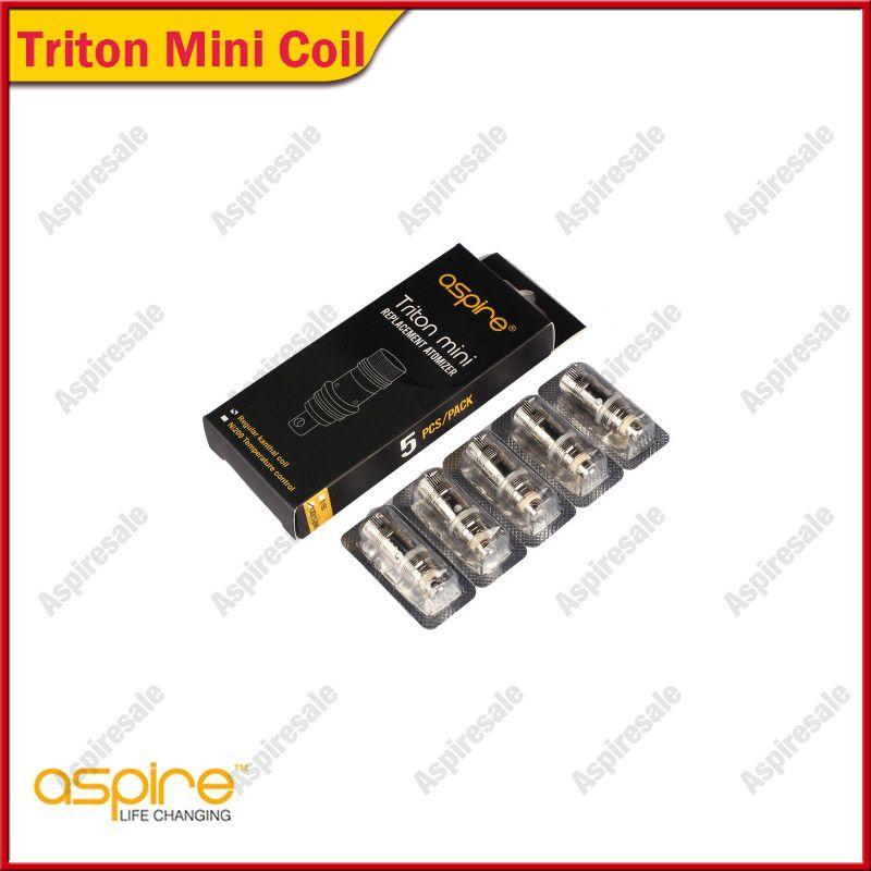 Authentic Aspire Triton Mini Atomizer Heads Replacement Coils 0.15ohm 1.2ohm 1.8ohm For Aspire Triton Mini & Nautilus Mini