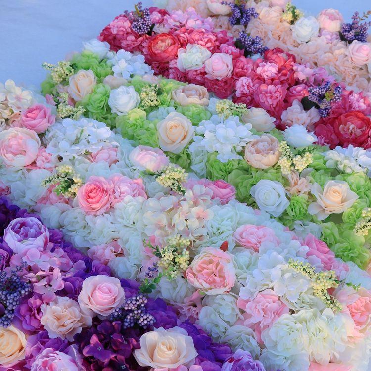 زهرة الزفاف الطريق الرصاص الزهور الجدول طويلة المركزية زهرة قوس الباب العتب الحرير روز حفل زفاف الخلفيات الديكور