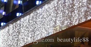 ستارة أضواء عيد الميلاد سلسلة الجنية 10Mx1M LED 448 للماء أضواء عيد الميلاد الديكور من النجوم مصابيح