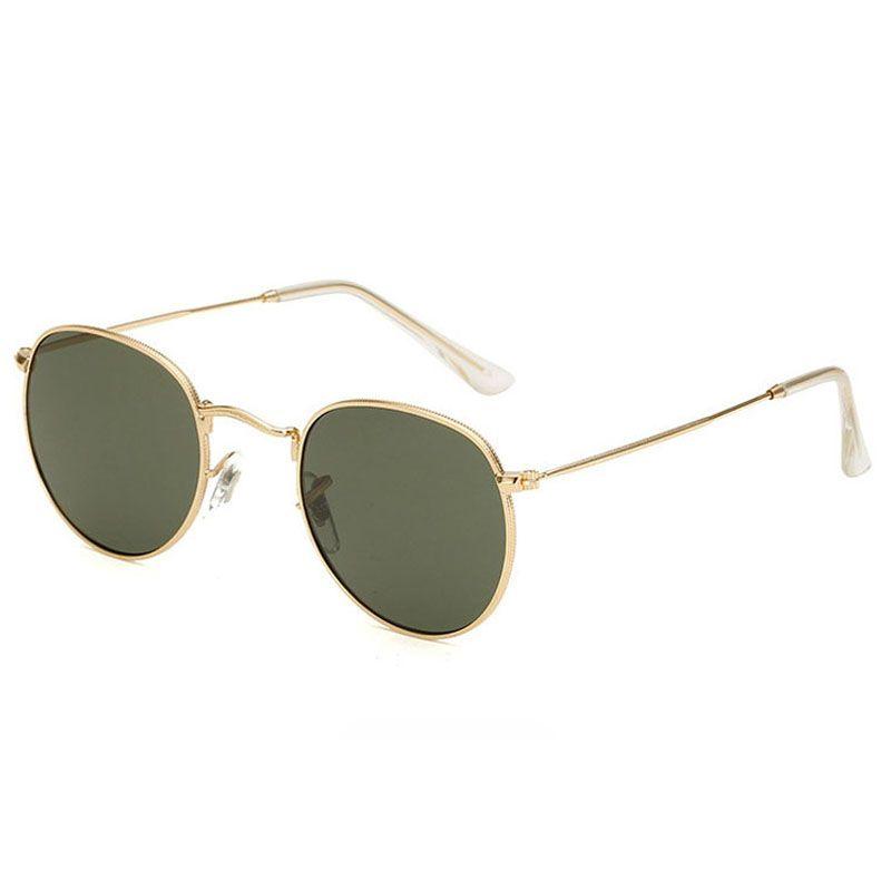 Erkekler Kadınlar Için güneş gözlüğü Vintage Erkek Sunglass Bayanlar Moda Sunglases Womens Lüks Güneş Gözlükleri Boy Tasarımcı Güneş Gözlüğü 3C4J47