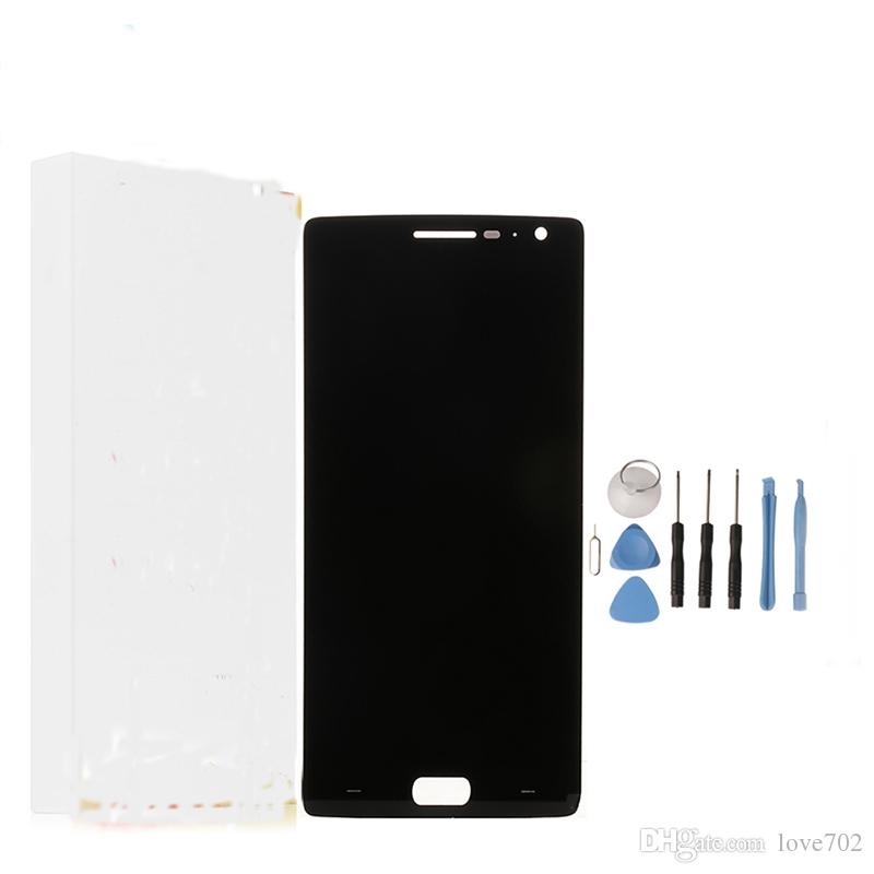 For Oneplus 2 LCD Display+Touch Screen New Digitizer Glass Panel Assembly Screen For One plus 2 Oneplus Two 5.5 By DHL