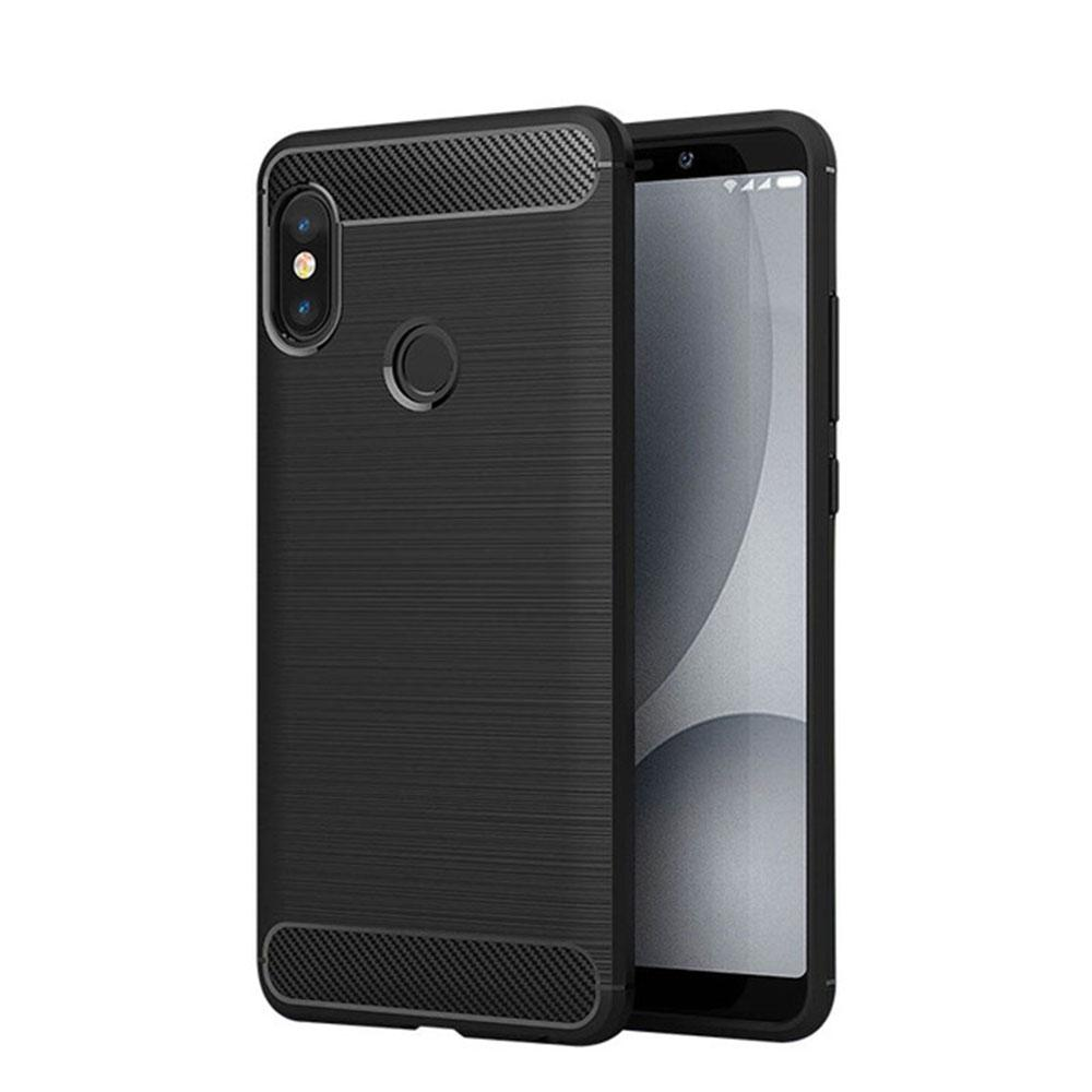 fb6d49f682 Redmi Note 5 Pro Case 64GB Silicone Armor Bumper Shockproof Back Cover  Rugged Case SE Cover Soft TPU Shockproof Mobile Phone Bags